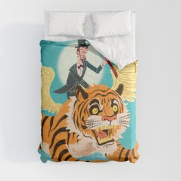 Abe Lincoln Flies a Tiger Comforters