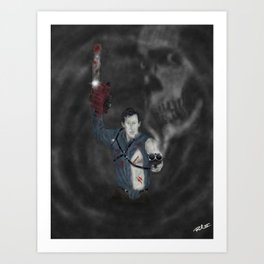 Ash Boomstick Art Print