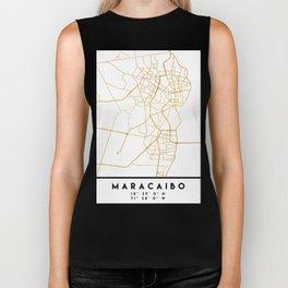 MARACAIBO VENEZUELA CITY STREET MAP ART Biker Tank