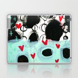 Falling Hearts Laptop & iPad Skin