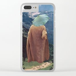 """""""MountainMan"""" Clear iPhone Case"""