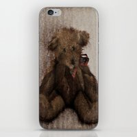 ferret iPhone & iPod Skins featuring Ferret by Cathie Tranent