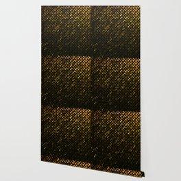 Crystal Bling Strass Gold G321 Wallpaper