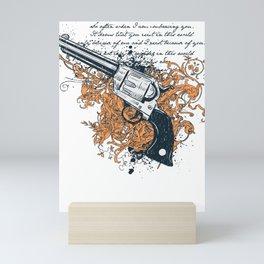 The Revolver Mini Art Print