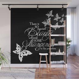 Strange Skullerflies - EA Poe Quote Wall Mural
