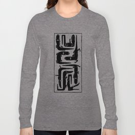 Alligators (black) Long Sleeve T-shirt