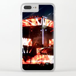 MOONRISEFEST2017 - Excision001 Clear iPhone Case