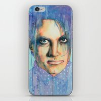 the cure iPhone & iPod Skins featuring Pastel Cure by Anne Blondie Bengard