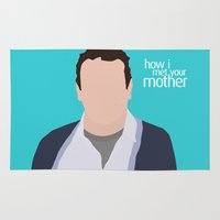himym Area & Throw Rugs featuring Marshall Ericksen HIMYM by Rosaura Grant