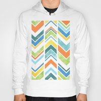 chevron Hoodies featuring Chevron by Tayler Willcox