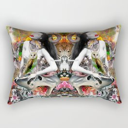 Jungle Melodrama Rectangular Pillow