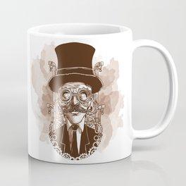 steampunk man Coffee Mug