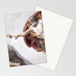 The Creation Of Adam Stationery Cards