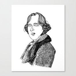 Oscar Wilde Canvas Print