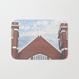 Red Brick Church Bath Mat
