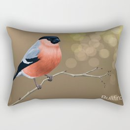 Bullfinch Rectangular Pillow