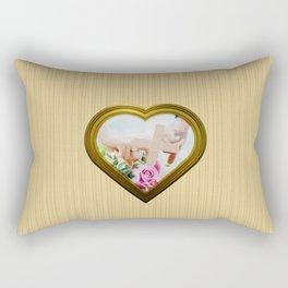 In Love Again - Encore en Amour Rectangular Pillow