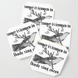 Lhude Sing Cuccu Coaster