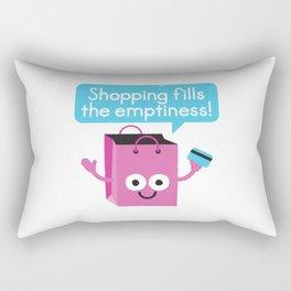 Retail Therapy Rectangular Pillow