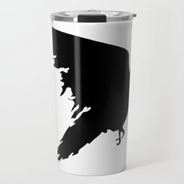 Ragged Raven Silhouette Travel Mug