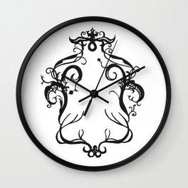 Fall frame Wall Clock