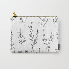 New Wildflowers Carry-All Pouch