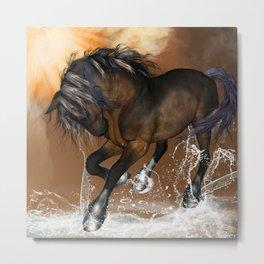 Beautiful horse Metal Print