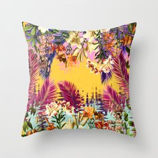 Tropical Time Throw Pillow