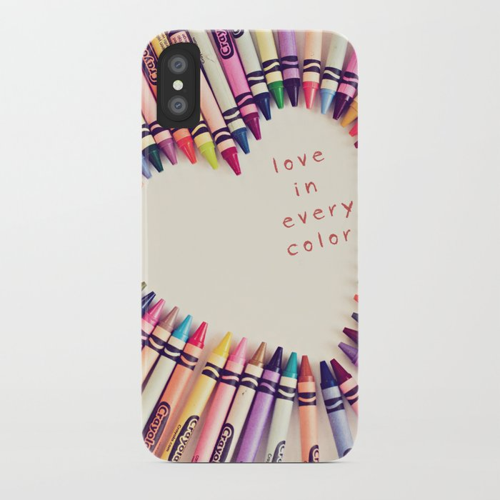 love in every color iPhone Case