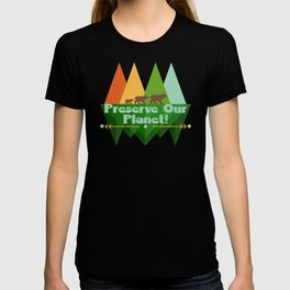 Preserve Our Planet T-shirt