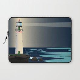 Lighthouse Night Background Laptop Sleeve