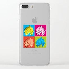 Pop Dragon Clear iPhone Case