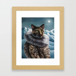 Arctic Explorer: Roald Amundsen Framed Art Print