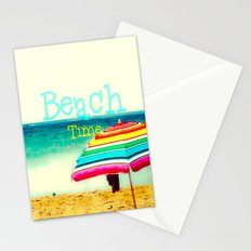 Beach time #3 Stationery Cards