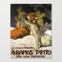Vintage poster - Aramos Pinto Canvas Print