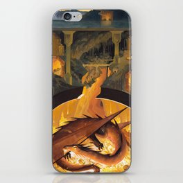 Beneath the Mountain Keep iPhone Skin