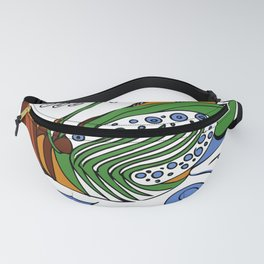 Earth Wind and Sunfire Fanny Pack