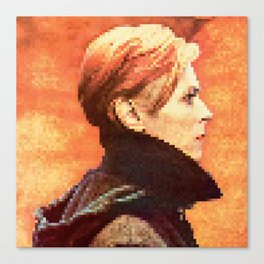 BOWIE - LOW Canvas Print