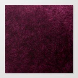 Pink Velvet texture Canvas Print