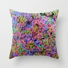 BUD (NEON) Throw Pillow