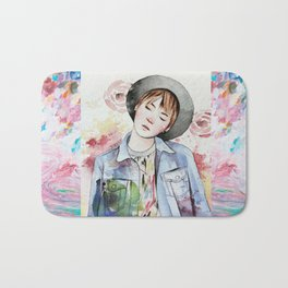 the age of blossoms Bath Mat