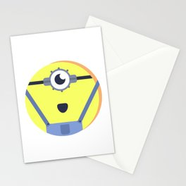 Minion Muggin' two Stationery Cards