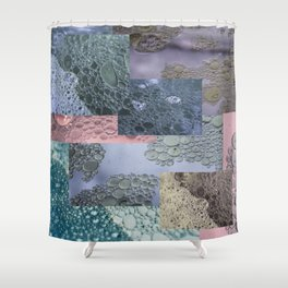 CHEMICAL SURFACE #2 Shower Curtain