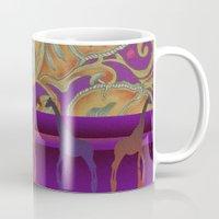 morocco Mugs featuring  boho morocco by Ariadne