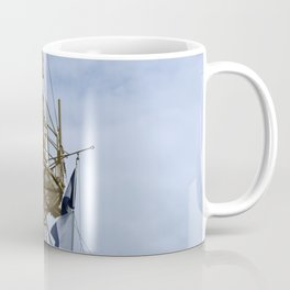 Light Vessel Mast Coffee Mug