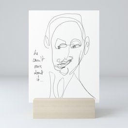 Sceptical Mini Art Print