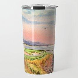 Pebble Beach Golf Course Hole 7 Travel Mug