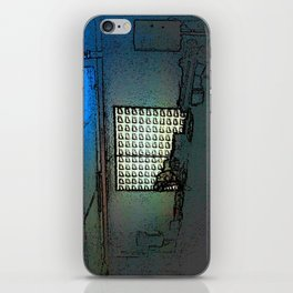 BLACK Electronic Underground #1 iPhone Skin