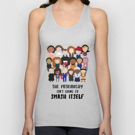 Smash the Patriarchy Unisex Tank Top