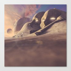 Titan's Cape Canvas Print